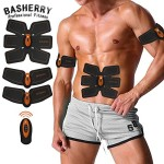 BASHERRY-Stimulateur-Musculaire-Abdominale-ABS-Trainer-Body-Toning-Fitness-Tonification-Ceinture-ABS-Fit-Poids-Muscle-Toner-0