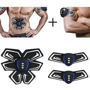 SHENGMI-Smart-Appareil-de-fitness-EMS-abdominale-exerciseur-Dispositif-muscles-abdominaux-Bras-Muscles-formation-intensive-lectrique-Perte-de-Poids-Minceur-Masseur-black-0-0