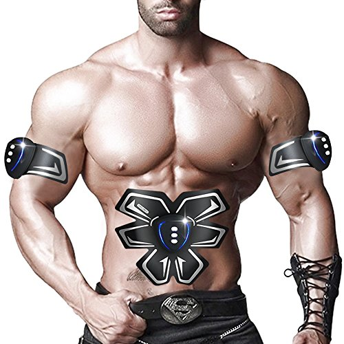 SHENGMI-Smart-Appareil-de-fitness-EMS-abdominale-exerciseur-Dispositif-muscles-abdominaux-Bras-Muscles-formation-intensive-lectrique-Perte-de-Poids-Minceur-Masseur-black-0