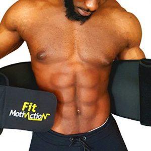 FitMotivaction-Ceinture-de-Sudation-Abdominale-en-Noprne--Gaine-Amincissante-Ventre-Plat--Taille-Unique-S--XXXL--Avec-Housse-Mtre-et-Guide-Fitness-Spcial-Minceur--Homme-et-Femme-0