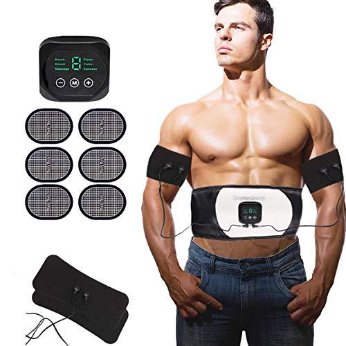 Ceinture-Abdominale-Electrostimulation-Electrostimulateur-Musculaire-EMS-Ceinture-Abdominale-pour-Homme-Femme-USB-Abdos-Appareil-Electrostimulation-Quipement-de-Fitness-Abdominaux-Bras-Jambe-0