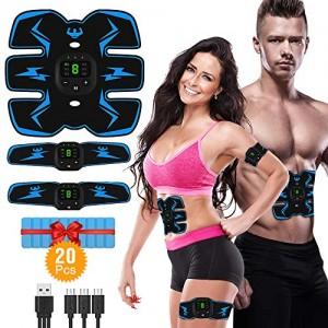 VICTOOM-Electrostimulateur-Musculaire-EMS-Ceinture-Abdominale-Electrostimulation-USB-Charge-ABS-Stimulateur-Musculaire-pour-Abdomen-Bras-Jambes-Formation-Corps-0