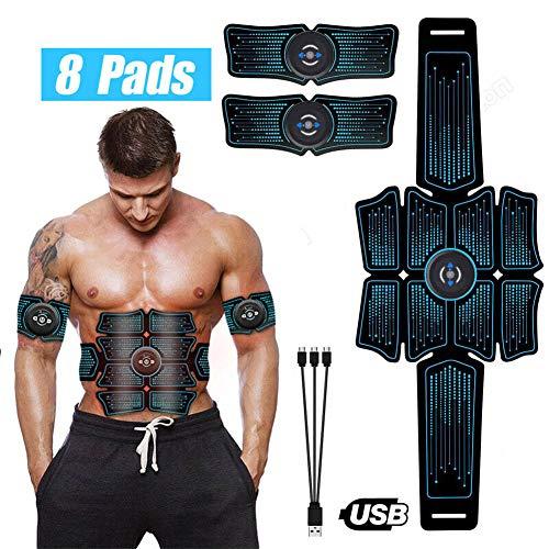 Airymap-Ceinture-Abdominale-ElectrostimulationElectrostimulateur-Musculaire-Entranement-AbdominalCuisseBras-MuscleAppareil-Abdominal-Gym-Workout-de-Fitness-0